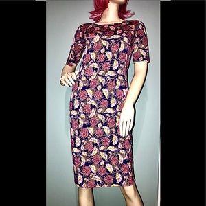 LULAROE • Fall Marigold Dress / size (S) NWOT!